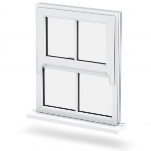 Sash-horn-window