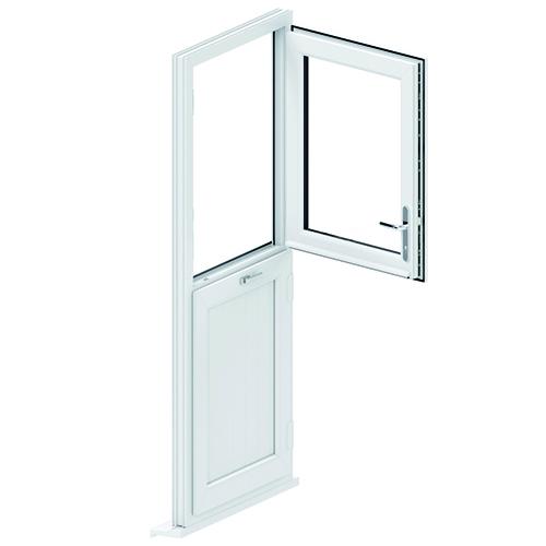 Stable-door-inset-door-opening